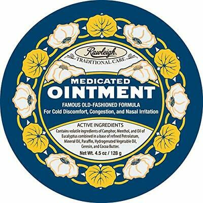 WT Rawleigh Medicated Ointment. 5oz Tin Free Shipping to Lower 48 States