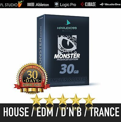 SAMPLES LOOPS Professional Producer DJ Audio Sounds .WAV Royalty Free Collection