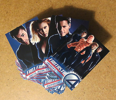 FANTASTIC 4 THE MOVIE Base Trading CARD SET Chris Evans Jessica Alba UPPER DECK