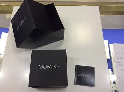 BRAND NEW 100% AUTHENTIC MOVADO WATCH GIFT BOX New From Dealer