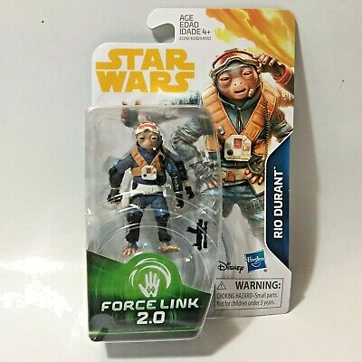 Star Wars Solo Movie RIO DURANT Force Link 2.0 3.75in Action Figure In Stock