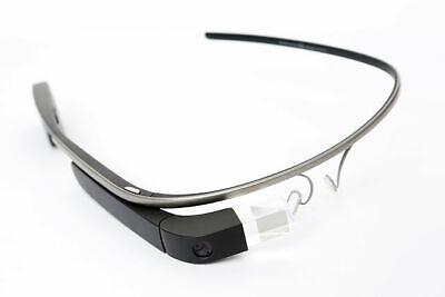 Google Glass Explorer Edition Shale Charcoal with Headphones Accessories