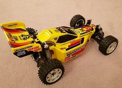 Kyosho Optima Mid Swb Bodyshell Lexan Body Undertray Gear Cover And Wing