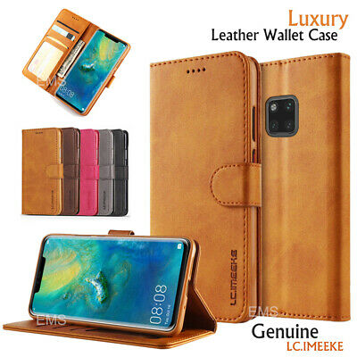 For Huawei Mate 20 Pro Wallet Case Luxury Leather Flip PU Magnetic Closure Cover
