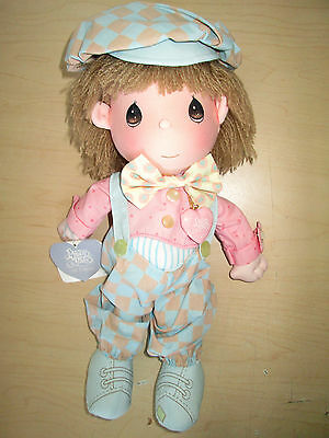 Vintage 1985 Precious Moments Boy Doll *nicky* #4577 By Applause.