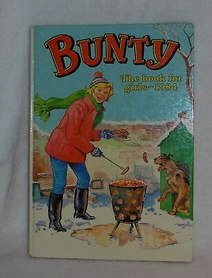 """Vintage Comic Book """"Bunty The Book For Girls 1984"""" – Great Big Birthday Gift!!!"""
