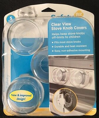 Safety 1st Clear View Knob Covers New