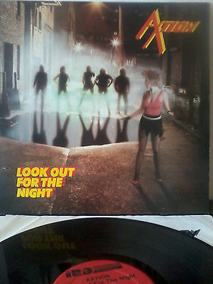 AXTION look out for the night [RARE1985 LP] Axewitch Riot Leather Nunn Wild Dogs