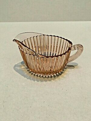 QUEEN MARY PINK Creamer by ANCHOR HOCKING