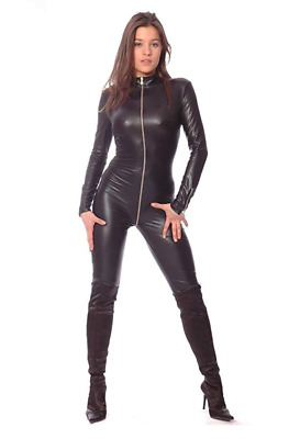 Patrice Catanzaro Wetlook Kunstleder Overall Wetlook Overall Sweety Gr. S