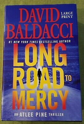 Long Road to Mercy (Atlee Pine Thriller) by David Baldacci - LARGE PRINT (New)