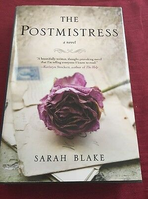 The Postmistress By Sarah Blake 2010, BCE Hardcover Book