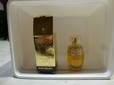Miniature CHAMPAGNE Yves Saint Laurent  EDT 7,5 ml