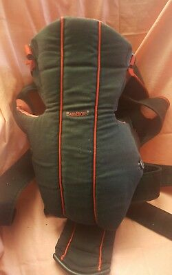 Baby Bjorn Infant Carrier ~ 8-26Lbs Red/Black ~ Lumbar Support Comfortable