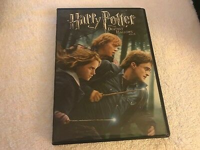 """Harry Potter """"Deathly Hallows  """"    DVD    """"free-shipping"""""""