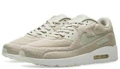 new product deda3 ae6af Nike Air Max 90 Ultra 2.0 BR Breathe Pale Gray White 898010-002 Men s Sz