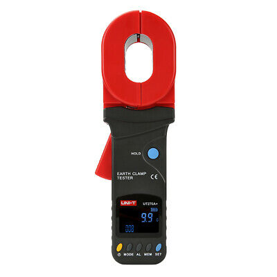 Earth Ground Resistance Clamp Ohmmeter Tester 0-1200 ohm Data Storage RS232 276A