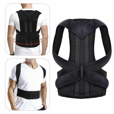 Adjustable Posture Corrector Therapy Clavicle Shoulder Back Support Brace Belt