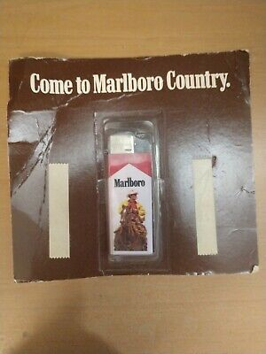Marlboro Cigarettes Marlboro Man on Horse Disposable Lighter In Unopened package