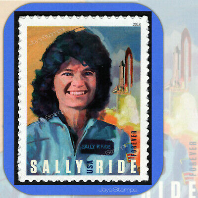 2018  SALLY RIDE  1st Woman in Space  USPS  Forever®  Stamp  MINT  Cat # 5283