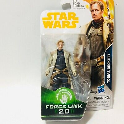 Star Wars Solo Movie TOBIAS BECKETT Force Link 2.0 3.75in Action Figure In Stock