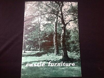 Vintage Castle Furniture Sales Brochure  Price List