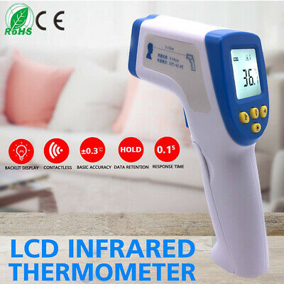 Handheld LCD Digital Laser Thermometer Temperature Non-Contact IR Infrared Gun K