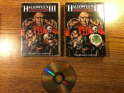 Halloween III Season of the Witch Collector's Edition DVD Slipcover RARE OOP