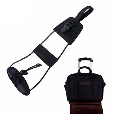 2 Pcs Suitcase Add A Bag Strap Travel Luggage Adjustable Belt Easy to Carry On