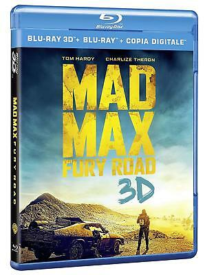 Mad Max Fury Road 3D Et 2D  Blu Ray  Neuf Sous Cellophane
