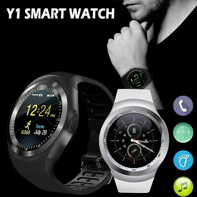 2018 BLUETOOTH Y1 Smart Watch Phone Mate For IOS Android Samsung