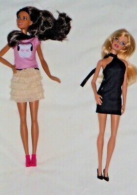 Barbie at her most basic, with fashionista friend  #1