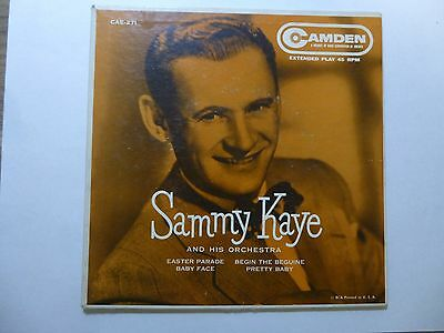 Old 45 RPM Record Picture Sleeve - Camden CAE-271 - Sammy Kaye - EP