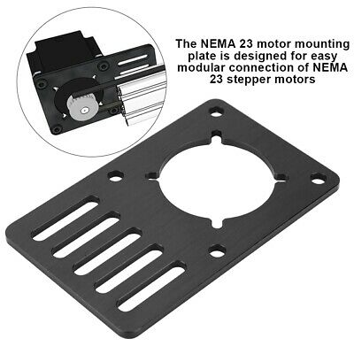 NEMA23 Stepper Motor CNC Mounting Plate Motor Fixed 3D Printer Accessories SS