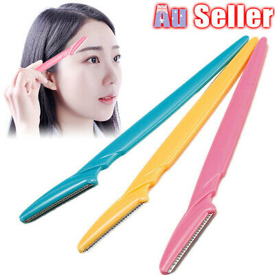 Eyebrow Shaver Hair Remover Tool Razor Face Blade Tinkle Shaper Trimmer