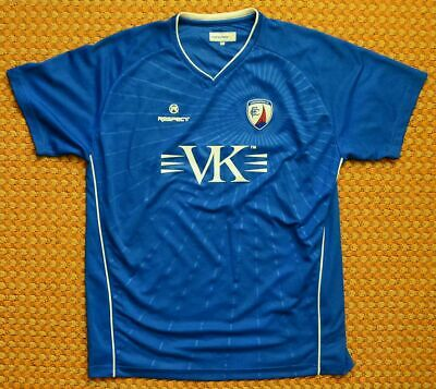 2011 - 2012 Chesterfield FC Home Football Shirt by Respect, Mens XL
