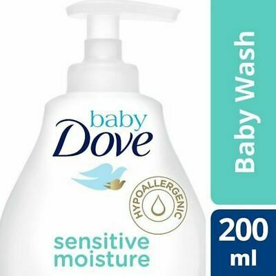 Baby Dove Sensitive Fragrance Free Head to Toe Wash 200ml