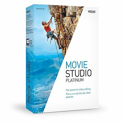 VEGAS Movie Studio Platinum 14 Video Editing Software