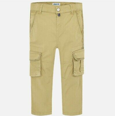 New Boys Mayoral Cargo Trousers, Age 2 Years , (3524)
