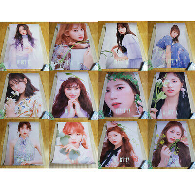 IZ*ONE HEART*IZ 2st Mini Album Unfolded Poster Select Member IZONE HEARTIZ