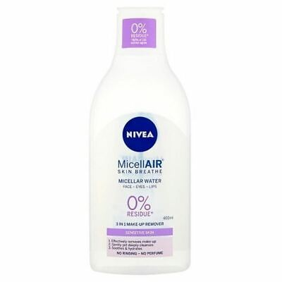 NIVEA MicellAIR Micellar Water for Sensitive Skin, 400ml