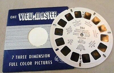 Vintage Viewmaster - Sawyer's Single Reel 284 Death Valley National Monument