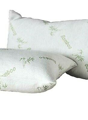 Organic Anti-Bacterial Bamboo Breathable AntiAllergy Hollowfibre Filled Pillows