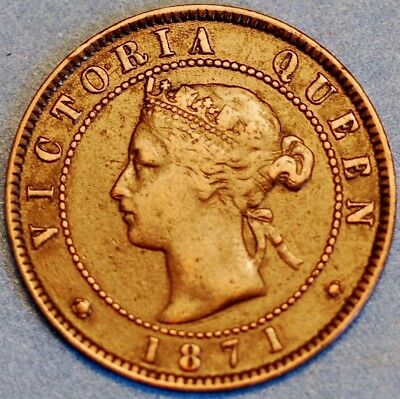 1871 Canada Pie Victoria Queen One Cent