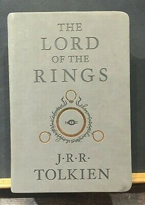 The lord of the rings J.R.R. Tolkien HMH Deluxe edition Ingles English