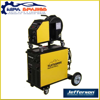 Jefferson Tundra 300Amp Industrial Mig Welder (Single Phase) 4 Roll Wire Feed