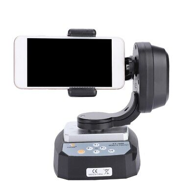 YT-500 Remote Control Pan Tilt Auto Rotating Head PTZ For Action Sports Camera