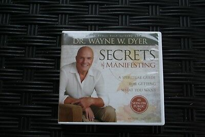 Secrets of Manifesting: A Spiritual Guide by Dr Wayne W. Dyer 6 Audio CD Set New