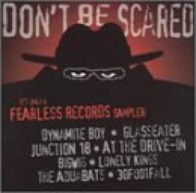 DON'T BE SCARED CD Punk NEW Glasseater At The Drive In w