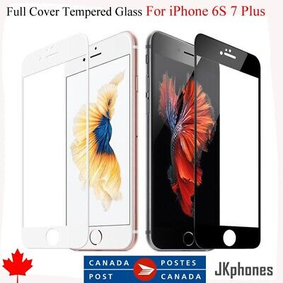 Full Screen Tempered Glass Screen Protector for Apple iPhone 7 Plus & iPhone 8 +